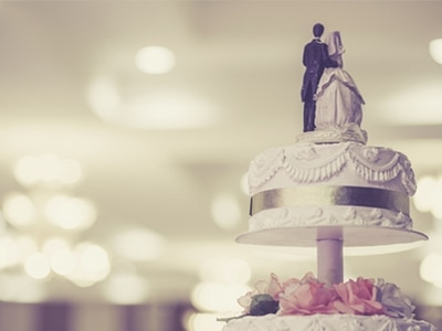 Marriage Cake at Heston Hyde Hotel