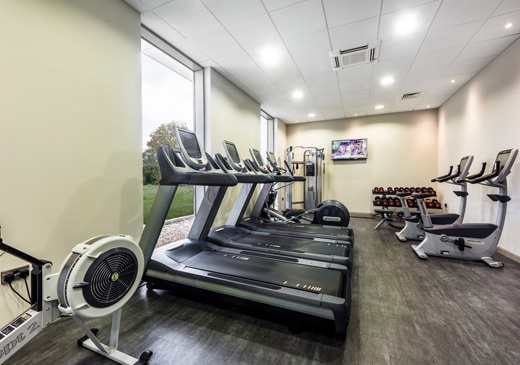 Fitness Centre at Heston Hyde Hotel in Hounslow, Middlesex, England